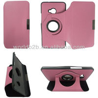 2013 NEW Leather Stand Cover Case for HTC One M7 with 360 Rotary