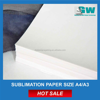 Factory supply best quality cheap price anti-curl sublimation paper a4 a3 size