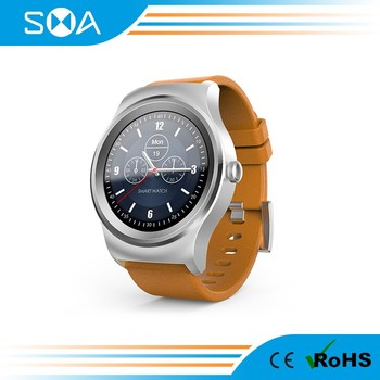2017 New Arrival IPS Round Touch Screetch Sim Card Intelligent Watch2