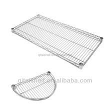 NSF chrome plating wire shelving