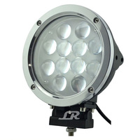 "2015 new 7"" 60w c ree led driving light,round waterproof 60w led worklight for off road 4x4 mini tractor"