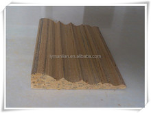 wood decorating moulding wood skirting board for construction
