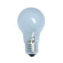 A55 energy saving halogen lamp E27 frosted glass light bulb