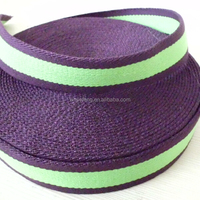 color stripe cotton tape