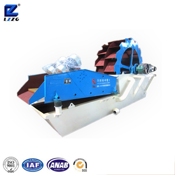 high speed and high efficient washing and dewatering machine with long service life