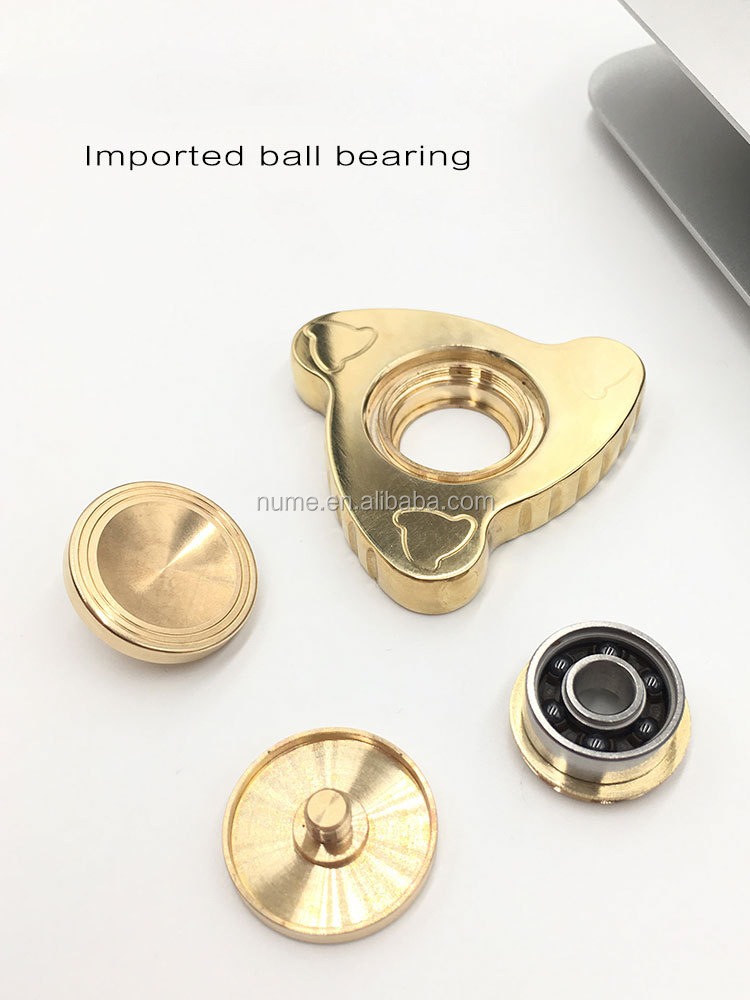 New Relieve Stress Fidget imported ball bearing hand spinner toys customized