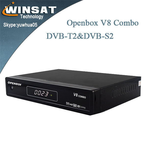 Opennbox v8 combo DVB-S &DVB-T2 satellite receiver 3G ,support IPTV /Web TV,set top box wificloud ibox