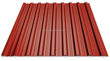 Nice appearance pre-painted corrugated glazed steel roofing tiles color coated corrugated metal sheet T18