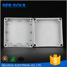 Seilsoul High Quality Long Life 175x175x100mm IP67 Protection Level 4 Plastic Screws Type Light ABS Enclosure Junction Boxes