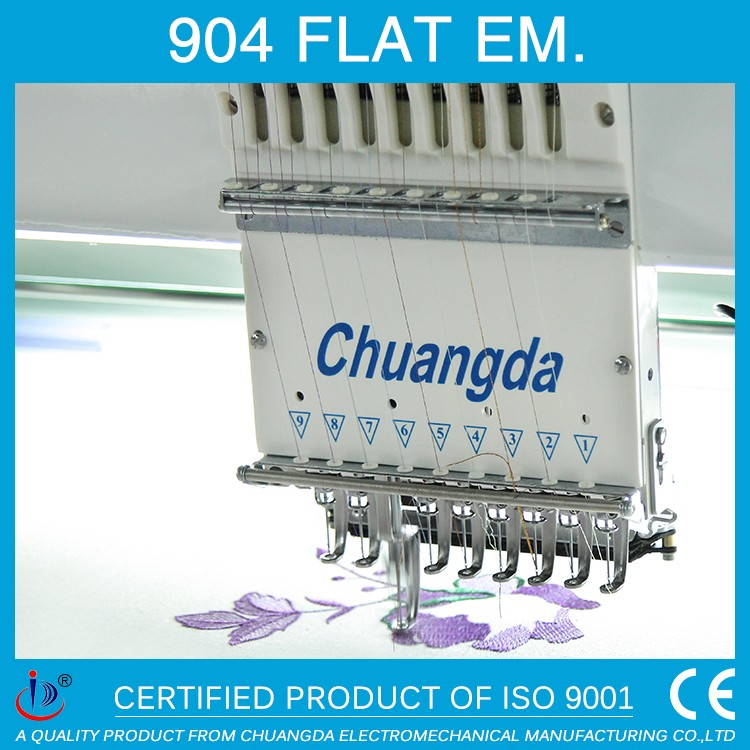904 FLAT COMPUTER 4 HEADS WHOLESALE DAHAO BARUDAN EMBROIDERY MACHINE FOR SALE