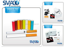 Smaco two part electronic cigarette wholesale, fancy pipe e cig vaporizer dropship e cig