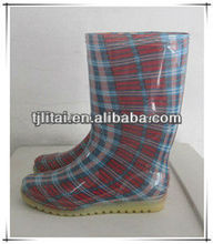 red stripe women breeding industry working shoes bootsboots