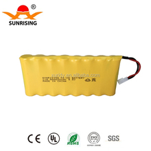 9.6v ni-cd rechargeable battery pack 600mah