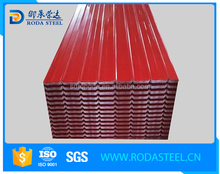free samples ! metal sheet roofing sheet standard size of corrugated gi sheet