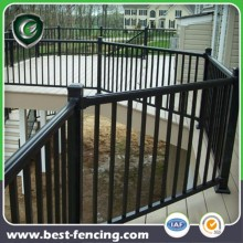 Protective residential Steel or Aluminum Deck Railing