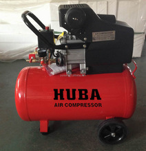 BM air compressor direct driven piston type small portable AC power 2HP 50L