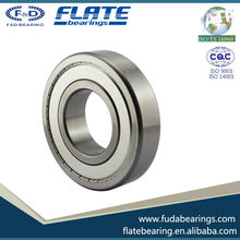 F&D FLATE OEM supplier hot sales with reasonable price high precision chrome steel Deep Groove Ball Bearing 6301ZZ