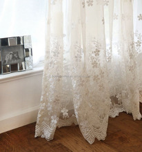 Fashion window curtain voile curtain with lead weight