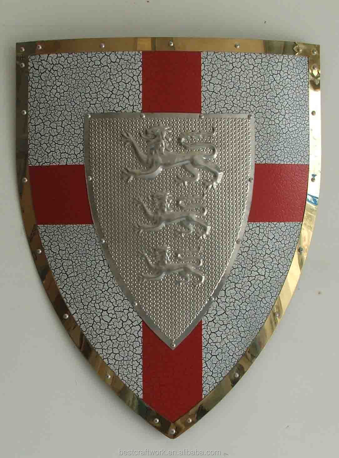 Medieval Shield And Sword