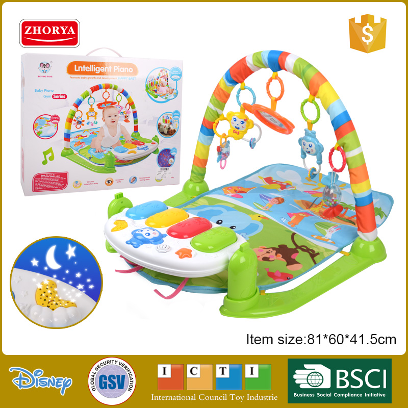 Zhorya HQ Baby toys happy space large car theme baby play mats animals images game mats