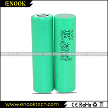 Samsung 25r 2500mAh for Electric Bike Battery and E-cig Lithium ion 3.7v Battery Rechargeable