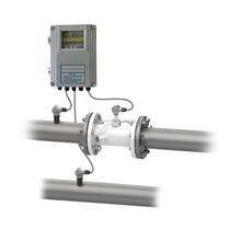 TSONIC TUF-2000S Grey Wall Mounted Inline Pipe Type Digital RS485 Interface And 4-20mA Analog Output Ultrasonic Heat Meter