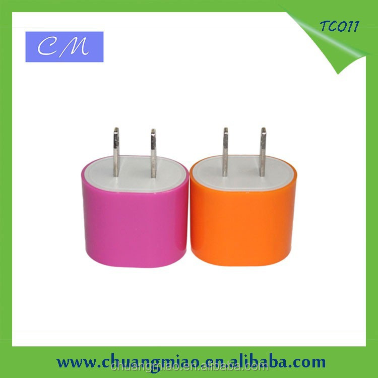 2015 Colorful 5V0.7A wall charger for psp with CE RoHS FCC