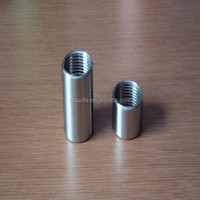 CNC customized stainless steel machining coupings,steel tube