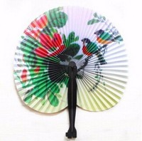 Low Price High Quality Perfect Gift Custom Printed Folding Paper Hand Fan