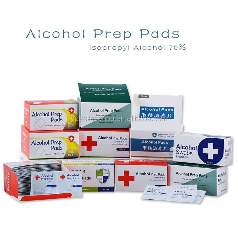 Alcohol prep pads OEM welcome ultra compact screen antibacterial cleaning wet wipes