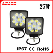 High bright 27W LED work light led ip67 cheap car accessories for off road truck