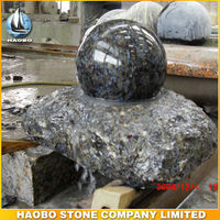 Haobo Cheap Natural Stone Indoor Rolling Ball Water Fountain