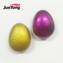 2018 new wholesale bling egg shaped mini detangling plastic hair brush