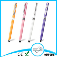 2 in 1 stylus pen roller pen,cap match both side perfect