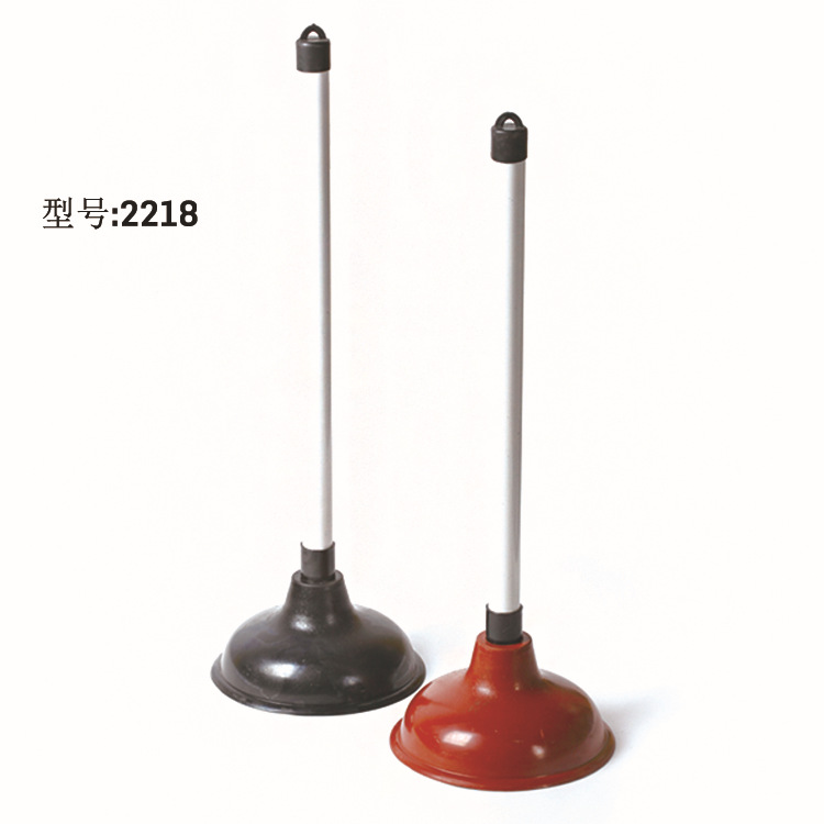 HQ2218 Taiwan quality rubber black toilet plunger sink plunger in silver grey color