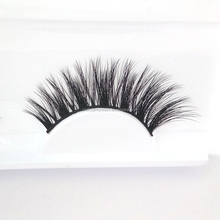 Premium quality 3D faux mink eyelash silk false lashes