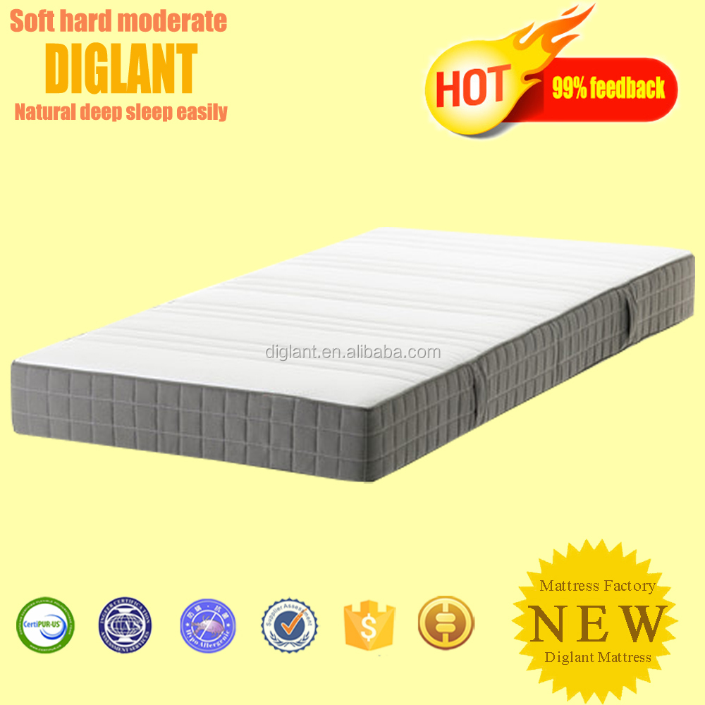 Dream night thin single bed roll up mattress