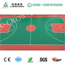 New design Acrylic basketball court coating flooring paint with great price