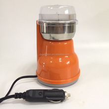 12V electric portable mini burr coffee grinder coffee grinding machine