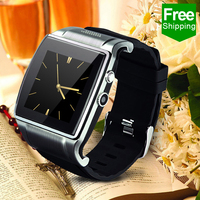 "1.6"" IPS LCD screen SIM Watch in metal case smart phone watch support 2.0 mega pixel camera"