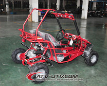 CE Approved Rental 3 Gears with Reverse Gear 125CC Dune Buggy Go Kart