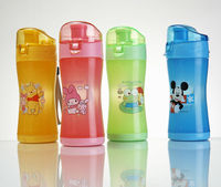 BPA free plastic water bottle sports bottle children bottle