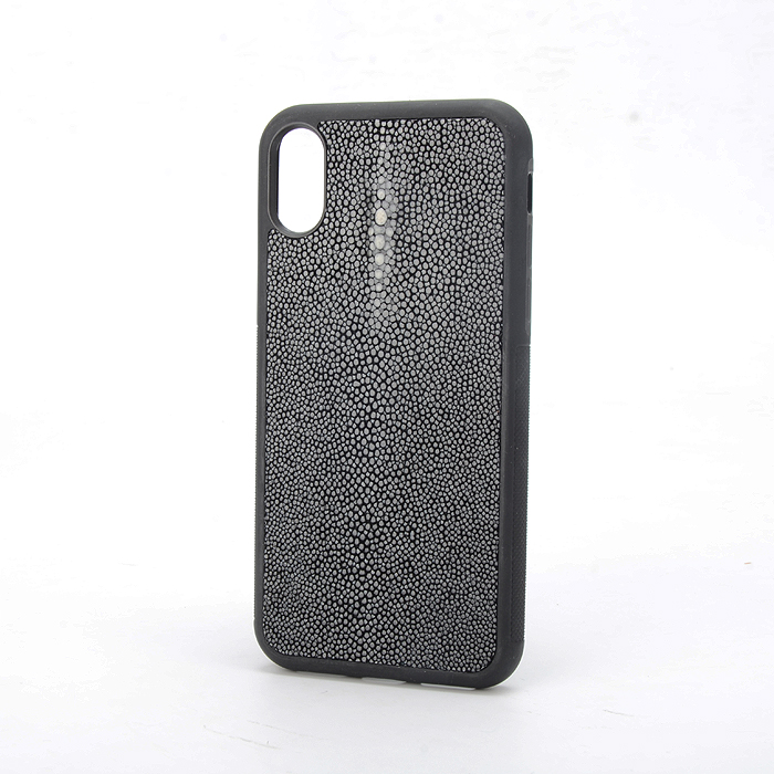 Real Stingray Leather Covered Phone Case