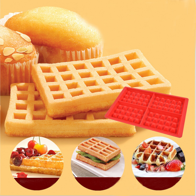 rectangle waffles cake maker&silicone jelly cake moulds