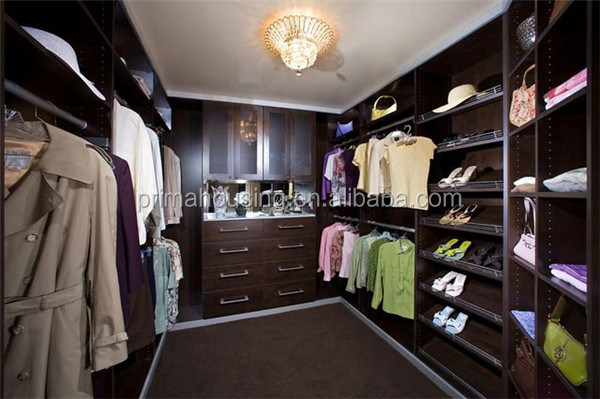 High quality open design closet storage ideas