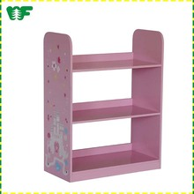 The cheap price wooden shelf for bedroom