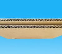 single wall or double wall corrugated cardboard sheet