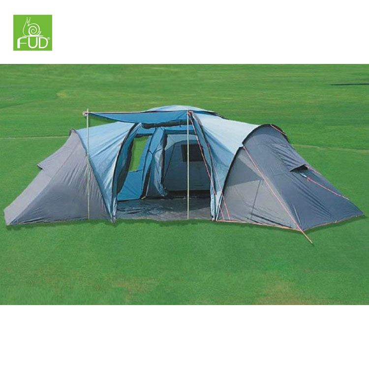 Custom design available Family 3 rooms camping tent 12 person