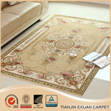 chenille yarn jacquard floor carpets on sale