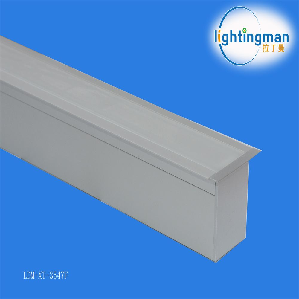 Factory Price Recessed Linear Lighting Led Aluminum Profile